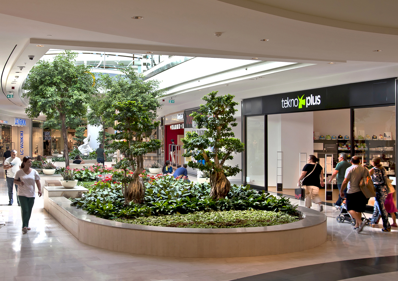 Architecture Photography Project Akbati Shopping Lifestyle CentreIstanbul  Turkey Client Ddg Akis Real Estate Interior Garden Tranquillity