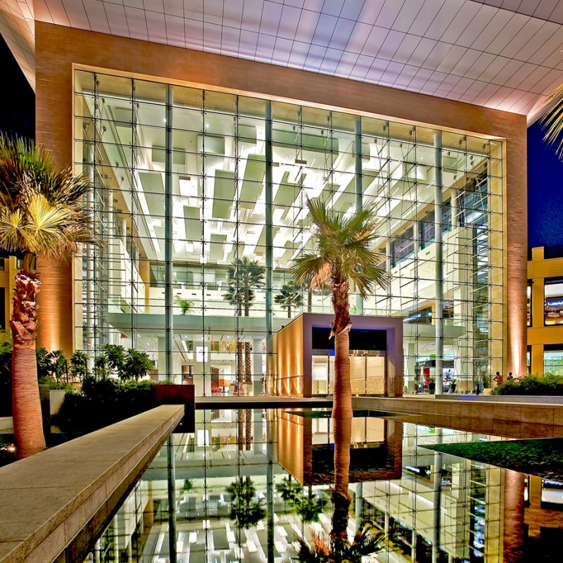 Architectural Photography Project City Centre Mirdif Dubai Client Callisontrkl Majid Al Futtaim Internal External Full Atrium Palms Entrance Twilight DSC4363