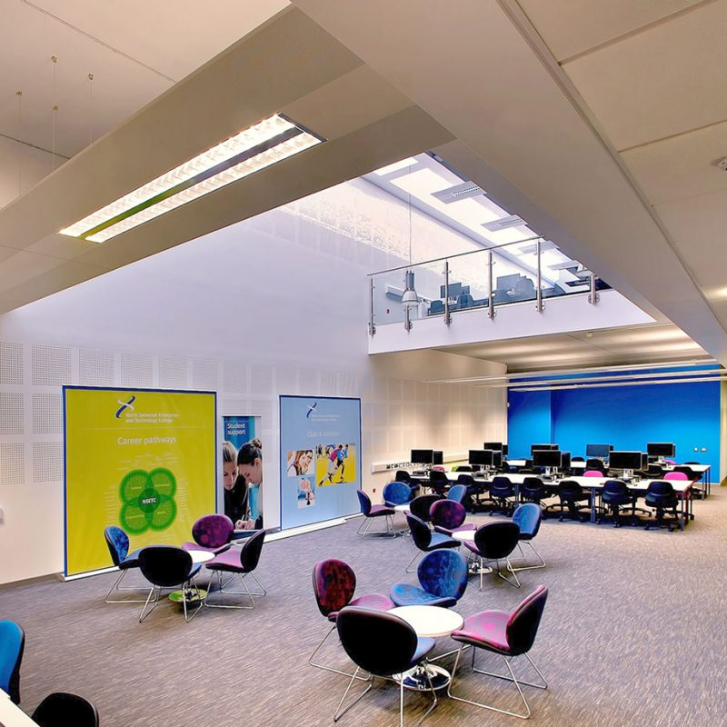 Architectural Photography Project Weston College South West Skills Campus Client View Architects Internal Library MJD_0289