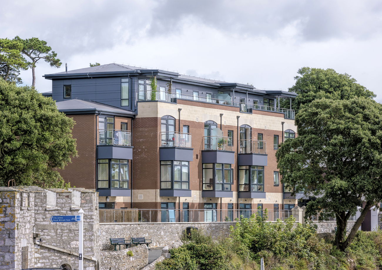 Architectural Photography Project Nazareth House Plymouth Client APG Architecture Sea Facing Elevation mjd1122.jpg